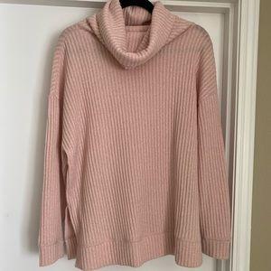 Gap Blush Cowl-neck Sweater